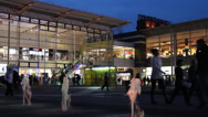 Manufaktura, Lodz, Poland. Large shopping and entertainment center in Poland Stock Footage