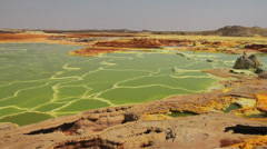 Dallol Volcano Stock Footage
