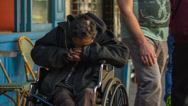 Stock Video Footage of Homeless