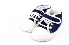 Stock Photo of baby shoe