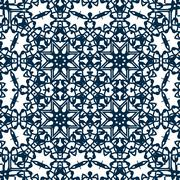 abstract ornament background, seamless pattern. - stock illustration