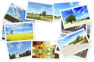 Stock Photo of pile of nature photos