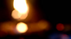Blurred fire Stock Footage
