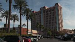 Palace Station Hotel & Casino Wide Shot Stock Footage
