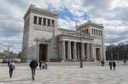 Stock Photo of Germany, Bavaria, Munich, view to Propylaea at Koenigsplatz