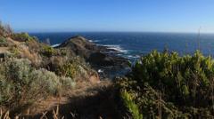 Australian Ocean Landscape scenic Stock Footage