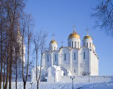 Assumption cathedral in Vladimir Stock Photos