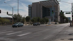 Nevada District Court House Stock Footage