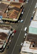 Etelä-Afrikka, Johannesburg, Katsaus teollisuusalueen katujen Kuvituskuvat