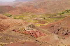 Stock Photo of Morocco, High Atlas landscape