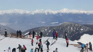 Stock Video Footage of snow mountain Slovakia ski winter Jasna Europa