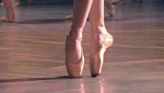 Group of Ballet Dancers Stock Footage