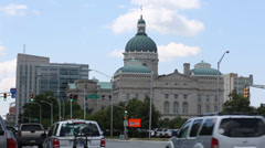 Indiana Statehouse Stock Footage