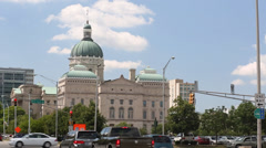 Indiana Statehouse 2 Stock Footage