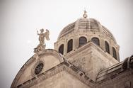 Stock Photo of cathedral of st. james in sibenik, croatia