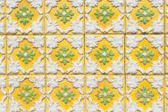Stock Photo of Portuguese glazed tiles 160