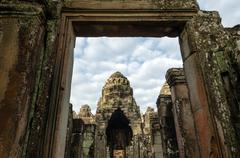 Angkor vat. Bayon Hram Stock Photos
