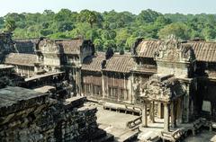 The temple of Angkor Wat, Siem Reap Stock Photos