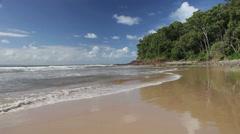 Australian Beach Landscapes Stock Footage