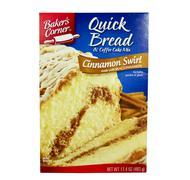 box of baker's corner quick brerad - stock photo
