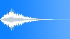 metallic air reverb tail 03 - sound effect