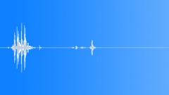 hair gel goop plop splat 01 - sound effect