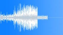 Glitch static noise stinger 03 Sound Effect