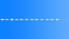 footsteps, walking reverb b slow 01 - sound effect