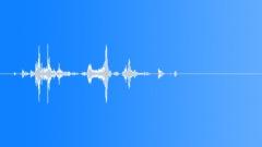 hair gel goop plop splat 05 - sound effect