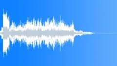 Glitch static noise stinger 04 Sound Effect