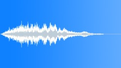 metallic air reverb tail 02 - sound effect