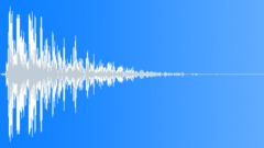 wooden plank impact wobble 01 - sound effect