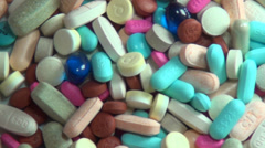 Pills, Medicine, Drugs, Health - stock footage