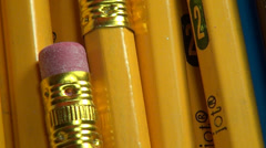 Pens, Writing Utensils, Office Supplies, Drawing Stock Footage
