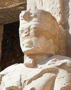 statue in Karnak temple, Luxor, Egypt - stock photo