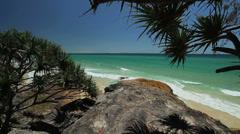 Australian Beach Landscape - stock footage