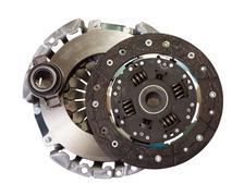automotive engine clutch - stock photo