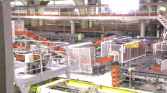 Product manufacture video time lapse Stock Footage