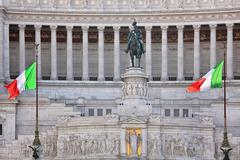 Stock Photo of victor emmanuel monument. rome, italy.