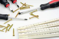 Tool for craftsmen Stock Photos