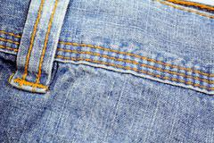 Detail of a pair of jeans Stock Photos