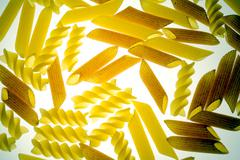 Transparent noodles Stock Photos