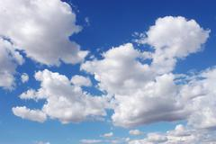 Stock Photo of Sky and clouds