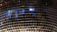 Stock Video Footage of Disco mirror ball
