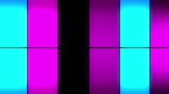 Color Glowing Panels7b Stock Footage