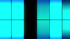 Color Glowing Panels7 Stock Footage