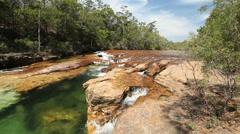 Landscape scene Australia Stock Footage