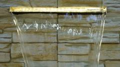 Flowing spring water Stock Footage