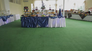 Stock Video Footage of Dessert table for a party