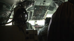 KC-135 Stratotankers at work Stock Footage